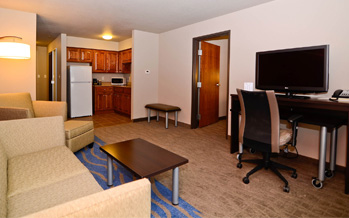 each room has free Wi-Fi and hard wired internet access at the Dickinson location