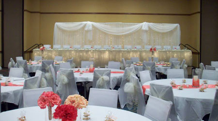 Dickinson location wants the Grand Ballroom to be your backdrop on your wedding day
