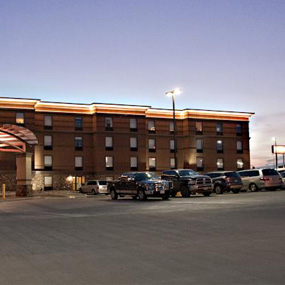 evening night with free parking at the Astoria Hotel & Suites Dickinson, ND