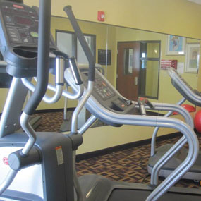 start your day right at the fitness center at Glendive, MT