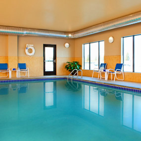 Minot North Dakota smaller image of the indoor pool